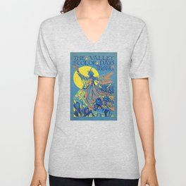 The Valley of Color Days Book Unisex V-Neck