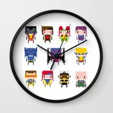 Pixel X-Men Wall Clock