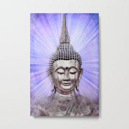 Inspiration violet Metal Print