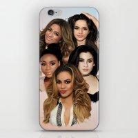 fifth harmony iPhone & iPod Skins featuring Fifth Harmony by Aaron Jason