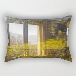 Wicklow Window  Rectangular Pillow