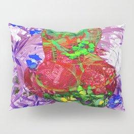 LayeredRealityNeonTail Pillow Sham