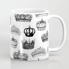 Royal Crown Print Coffee Mug