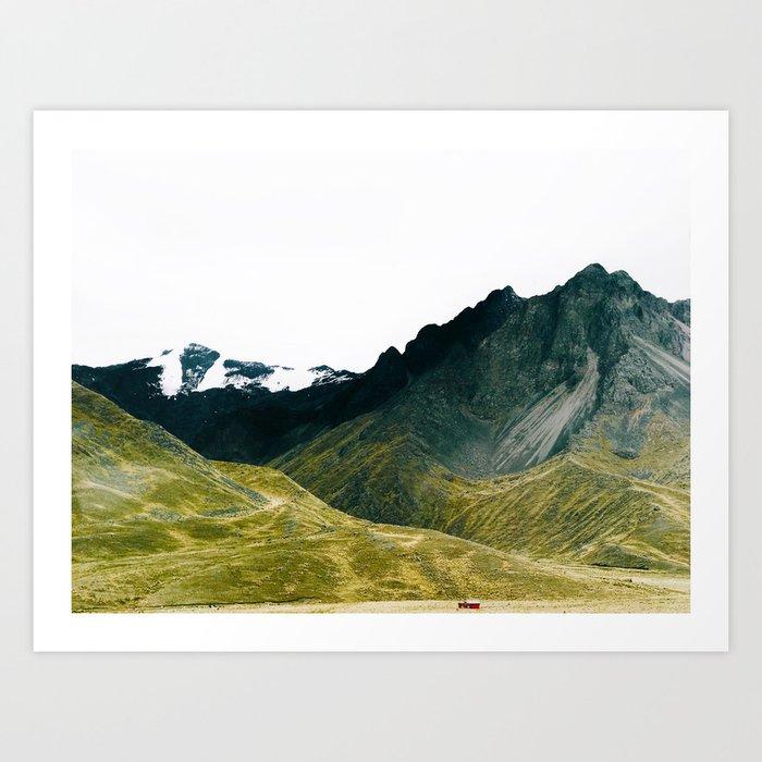 Serenity in Peru Kunstdrucke