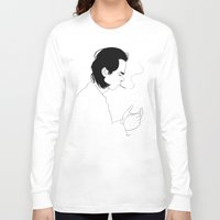 nick cave Long Sleeve T-shirts featuring Nick by AnaMF