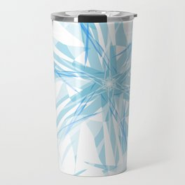 Ice on water Travel Mug