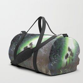 You're Never Alone With All These Stars Duffle Bag