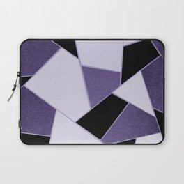 Ultra Violet Geometric Glam #1 #geo #decor #art #society6 Laptop Sleeve