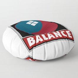 Samurai Balance Floor Pillow
