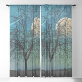 Solitude Harvest Moon Sheer Curtain
