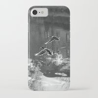 ducks iPhone & iPod Cases featuring Ducks by Rose Etiennette