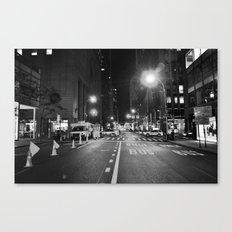 Late Shift Noir Canvas Print