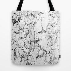 white marble Tote Bag