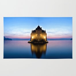 The Swiss Castle Rug