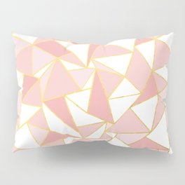Ab Out Blush Gold 2 Pillow Sham