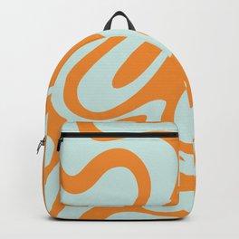Simple Liquid Shapes Backpack