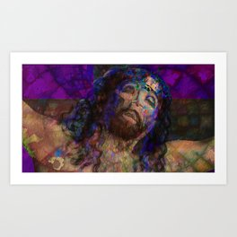 It is Finished: He still lives Art Print