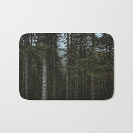 Oregon Trees Bath Mat