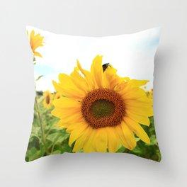 Sunflower 8 Throw Pillow