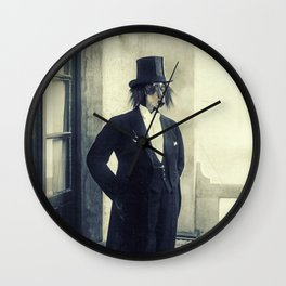 distinguished dog Wall Clock