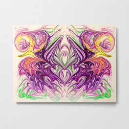 Organna Metal Print