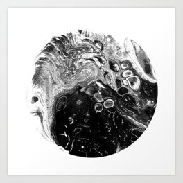 Blackhole Galaxy 01 Art Print
