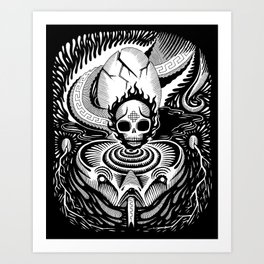 Amaru Art Print