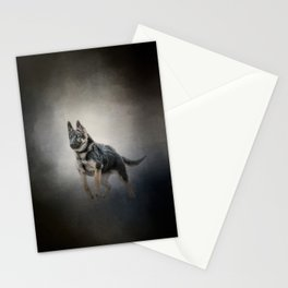 Feet First - German Shepherd Puppy Stationery Cards