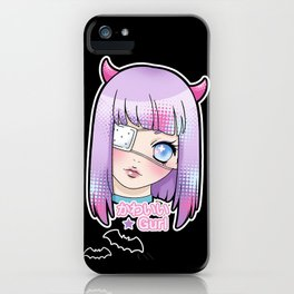 Kawaii Gurl iPhone Case