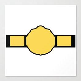 World Heavyweight Championship Canvas Print