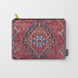 Bijar Kurdish Northwest Persian Rug Print Carry-All Pouch