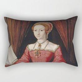The Virgin Queen when a Princess Rectangular Pillow