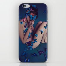 Butterfly Be Mine iPhone & iPod Skin