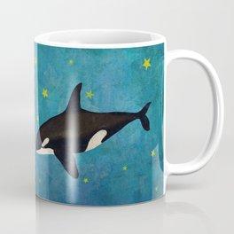 Whales at night  Coffee Mug