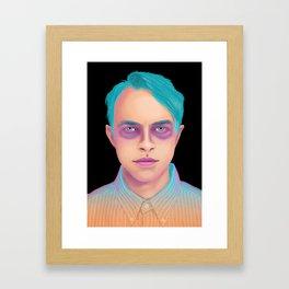 Neon DeHaan Framed Art Print