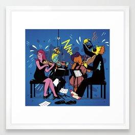 No Breaks Framed Art Print