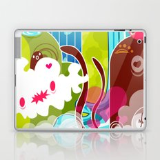 The Great Pineapple Race Laptop & iPad Skin