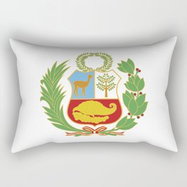 Peru Shield Rectangular Pillow