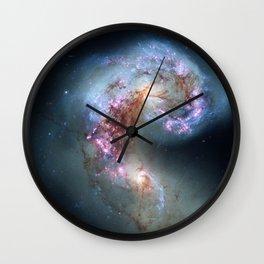 Interacting galaxies Wall Clock