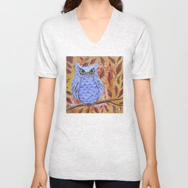 What A  Hoot Unisex V-Neck