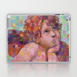 Sistine Cherub No. 1 Laptop & iPad Skin