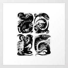 elctr eel Art Print