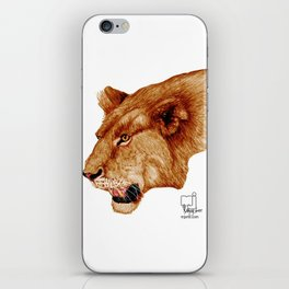 lion 1 iPhone Skin