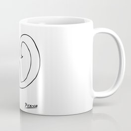 Pablo Picasso, The Squirrel, Artwork, Animals Line Sketch, Prints, Posters, Bags, Tshirts, Men, Wome Coffee Mug