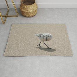 Sandpiper bird Rug