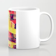 Industrial Abstract Red Coffee Mug