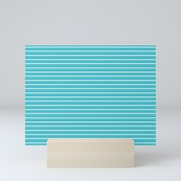 Lemoncello Striped Mini Art Print