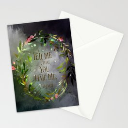 Tell me that you hate me. Cardan Stationery Cards
