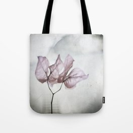 pale flower Tote Bag