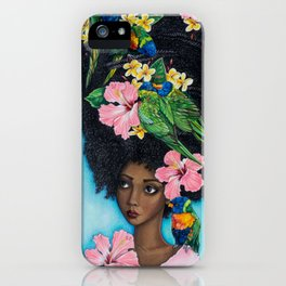Goddess of Benevolence iPhone Case
